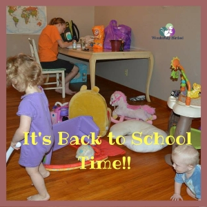 It's Back to School Time!!